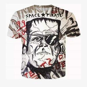 Men's Athletics Frankenstein shirt